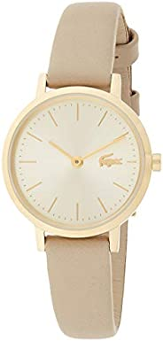 Lacoste Women's Champagne Dial Taupe Leather Watch - 200