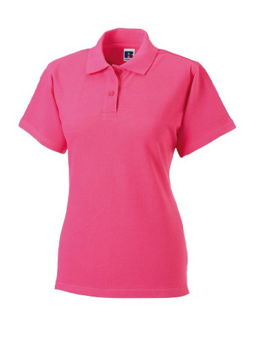 Russell Collection Klassisches Piqué Poloshirt R-569F-0 L,Rose -