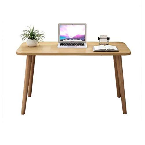 FENGFAN Tische Möbel Holz Computer Schreibtisch Massive Kiefer Desktop Buche Beine, Büro Studie PC Laptop Esszimmer Tisch (größe : 90 * 50 * 75cm) -