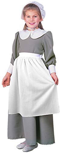 Rubies Costume Co R10557-L Colonial / Pilgrim Girl Child Size Large (Mädchen Colonial Girl Kostüm)
