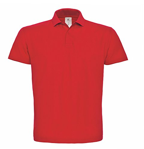 BCPUI10 Polo ID.001 / Unisex Red