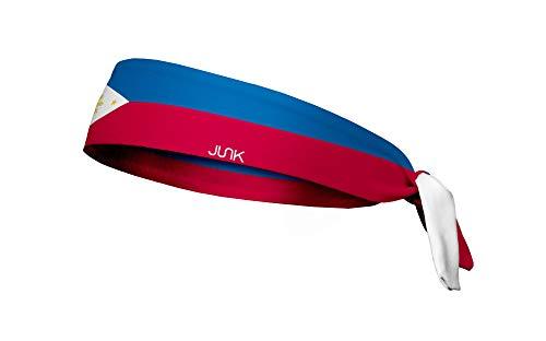 Preisvergleich Produktbild JUNK Brands Philippines Flag Flex Tie Headband Stirnband,  blau