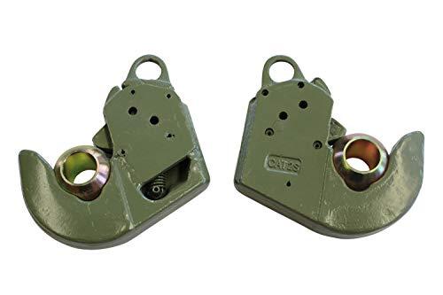 2x Unterlenker Fanghaken Kat. 2 s Schnellkuppler bis 66 KW / 90 PS