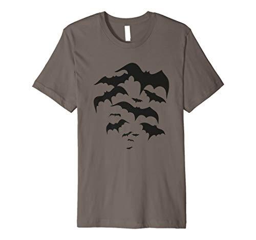 Fliegender Schwarm Fledermäuse. Dracula, Vampir Shirt.