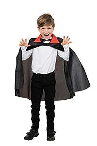Dracula Cape.Nylon Childs (disfraz)