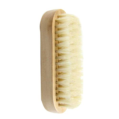 Kakiyi Holzkörpermassagebürste Bade Dusche abgestorbene Hautentfernung Entgiftungs Wash Scrubber Körperbehandlungen - Besten Cellulite-peeling