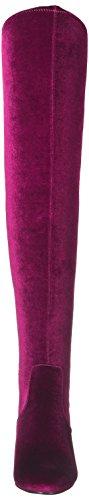Steve Madden Damen Emotion Kurzschaft Stiefel Rot (Velvet Burgundy)