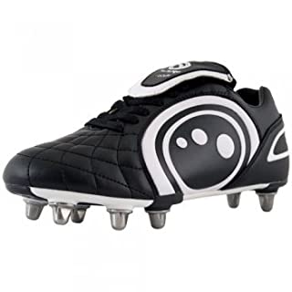 OPTIMUM Eclipse Football Rugby Boot Black White 1 (33) (B005LX9YN0) | Amazon price tracker / tracking, Amazon price history charts, Amazon price watches, Amazon price drop alerts