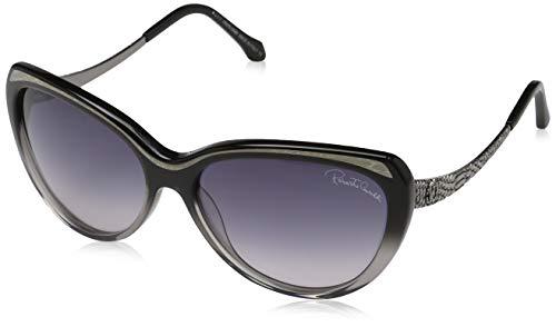 Roberto Cavalli Damen Sonnenbrille, Black, 59
