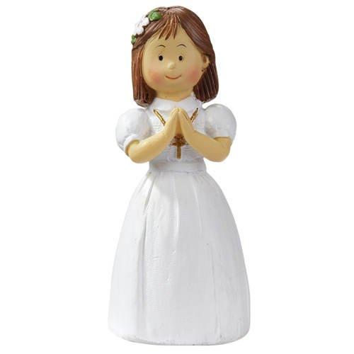 Kommunion/Konfirmation Figur Mädchen, 8,5cm hoch [Spielzeug]