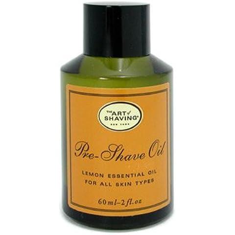 The Art Of Shaving Pre Shave Oil - Lemon Essential Oil (For All Skin Types) 60ml