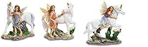KATERINA PRESTIGE BROHF1234 - Juego de 12 Hadas sobre Unicornio, Multicolor