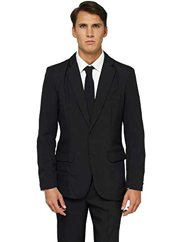 Offstream Plain Colored Suits for Men - Costumes Include Jacket Pants and Tie -