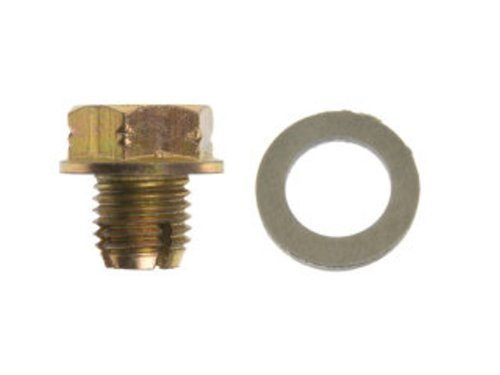 Dorman 090-174 Oversize Oil Drain Plug - M12-1.50 S.O., Head Size 17mm, Pack of 5 by Dorman