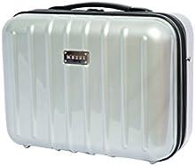 Mezzi ABS policarbonato multiusos bolsa es un ligero portátil mano llevar duro caso equipaje Carrier.