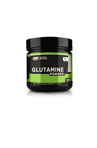 Optimum Nutrition Glutamine Pulver (5,0g L-Glutamine pro Portion von ON) Unflavoured, 120 Portionen, 630g