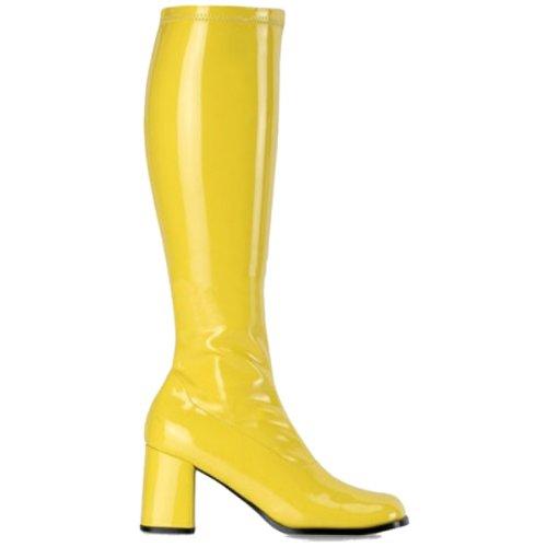 Gogo300 Ilo Botas Senhoras Agradar Amarelo wxvPgq