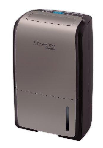 Rowenta Intense Dry Control DH4130F0 Deshumidificador de 25 l con depósito de 5.2 l, programador digital y temporizador 24 h, facilita secado ropa, filtrado iones plata