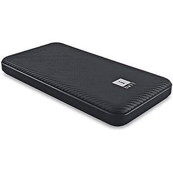 iBall 10000 mAh Powerbank (IB-10000LP), Dual USB Output, Black