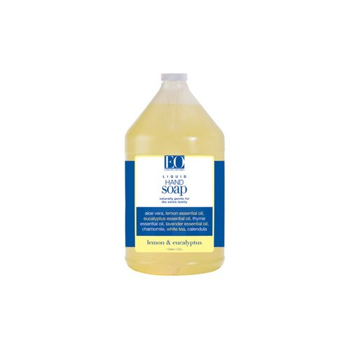 Eo Products Liquid Hand Soap Lemon And Eucalyptus - 1 Gallon by EO PRODUCTS (Soap Eo-hand)