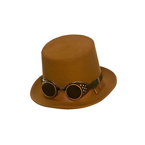 Sombrero color marrón intenso
