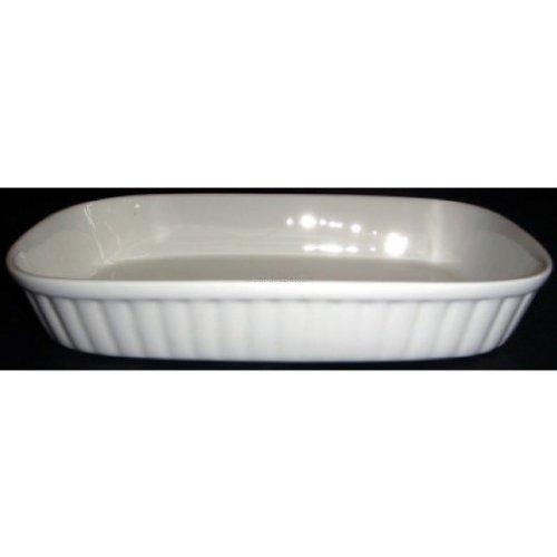 Devnow Ceramics Rectangular Ribbed Plate 9x5.5 inches