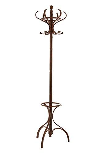 Premier Housewares - Perchero de pie (184 cm, madera de abedul)