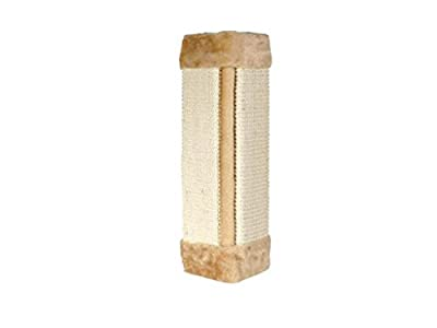 Petlicity ® Hanging Natural Sisal Cat Corner Wall Scratching Post - Keep Your Cats Healthy, Protect Furniture and Wallpaper by Petlicity