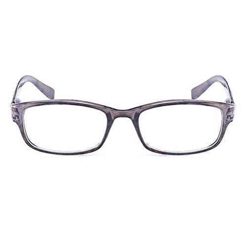 Zhuhaixmy Männer und Frauen Frühling Scharnier Lesebrille Leser Brillen - Wählen Sie Ihre Vergrößerung +1.0 +1.5 +2.0 +2.5 +3.0 +3.5 +4.0