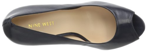 Nine West Camya Synthétique Talons Compensés Black