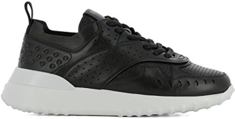 Tod's Mujer XXW80A0W590JUSB999 Negro Cuero Zapatillas  Venta de calzado deportivo de moda en línea