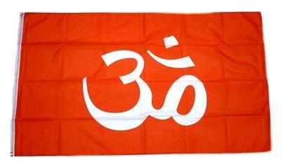Fahne / Flagge Hindu Hinduismus 90 x 150 cm