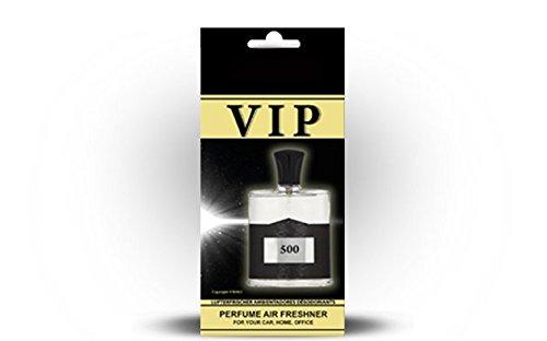 Preisvergleich Produktbild 5 x caribi VIP Auto, Zuhause oder Büro Lufterfrischer mit Parfume Duft von & 500 - CREED Aventus