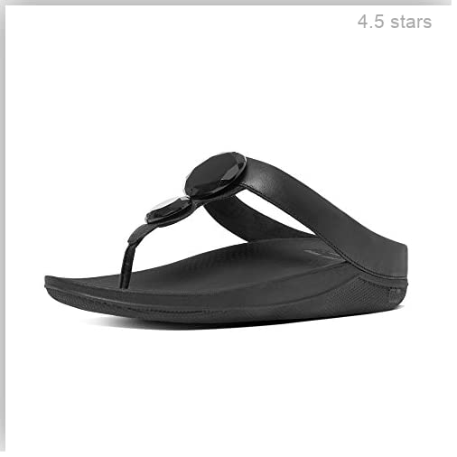 ef5ed1432761 (Rating  4.5 stars)  Fitflop Women s Luna Pop T-Bar Sandals