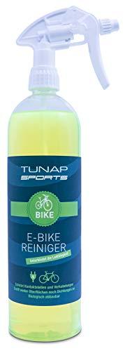 TUNAP SPORTS E-Bike Reiniger, 1000 ml Spray | für Elektrofahrräder - beseitigt Schmutz und schützt Kontakte vor Korrosion (1-Pack) … (1-Pack)