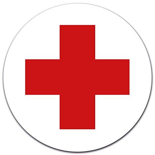 Adesivo Croce Rossa Tedesca. Protezione UV: l'adesivo è adatto per l'uso esterno ed è naturalmente resistente a graffi, non ingiallisce ed è resistente alle intemperie. Prodotto di alta qualità, realizzato in Germania. Originale di LabelDay; vengono ...