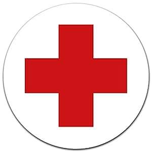 aufkleber drk rotes kreuz 12 cm f r verbandskasten oder medizinschrank erste hilfe mit uv. Black Bedroom Furniture Sets. Home Design Ideas