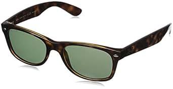 Ray-Ban Unisex - Erwachsene Sonnenbrillen New Wayfarer, Gr. 52, Braun (902/58 Tortoise)