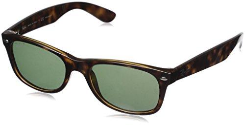Ray-Ban RB2132 New Wayfarer Sonnenbrille 52 mm, Braun (Tortoise), 52 mm
