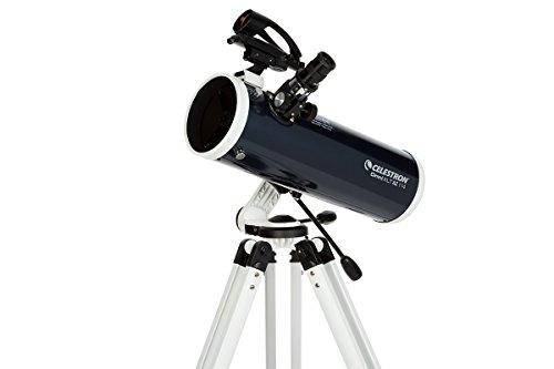 Celestron Omni XLT AZ - Telescopio astronómico 114