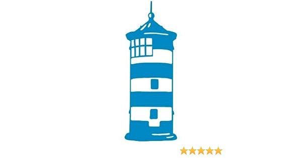 Graphits Leuchtturm Pilsum Ottoturm Aufkleber Autoaufkleber 80 0020 Hochwertig Konturenschnitt Freigestellt Ohne Hintergrund Größe Und Farbe Anpassbar Auto