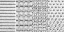 Achat en vrac: Makin's Argile feuilles Texture B (écran/rayures/carreaux/pois 380–2 M (Lot de 3)