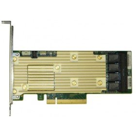 Intel RSP3TD160F Tri-Mode PCIe/SAS/SATA Vollständig ausgestatteter Raid-Adapter 8 internal und 8 External Ports Grün - Intel Sata Raid