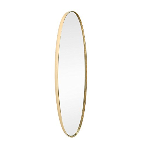Art Deco Home - Espejo Pared Clasico Dorado 77 cm