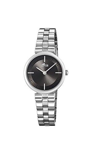 Lotus Watches Reloj Análogo clásico para Mujer de Cuarzo con Correa en Acero Inoxidable 18541/2