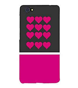 Love Design 3D Hard Polycarbonate Designer Back Case Cover for VIVO X5 PRO :: VIVO X5PRO