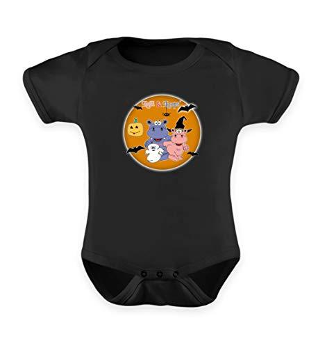 (Nilpferde Feiern Halloween - Süße Geschenkidee Für Kinder - Baby Body)