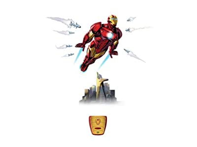In My Room Wild Walls Full Power Aerial Pursuit Iron Man