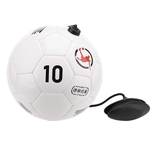 Fußball Trainingsball mit verstellbarem Seil zur Verbesserung der technischen Leistung, Pass, Ballkontrolle, Jonglieren