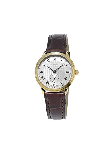 Frederique Constant Women's Analogue Quartz Watch with Leather Strap FC-235M1S5